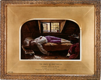 The Death of Chatterton [reduction] by Henry Wallis